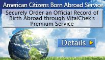 American Citizens Born Abroad Service
