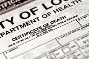 state of virginia death certificates